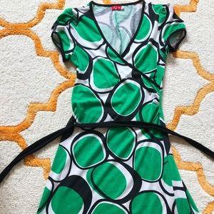 Cute Patterned Summer Dress